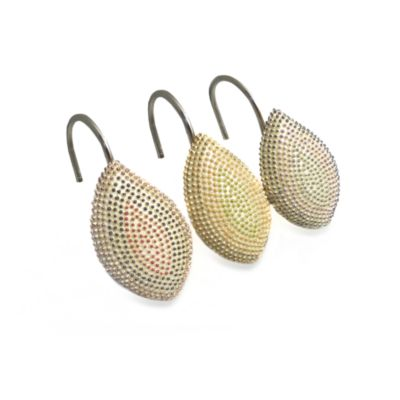 Croscill® Mosaic Leaves Shower Curtain Hooks