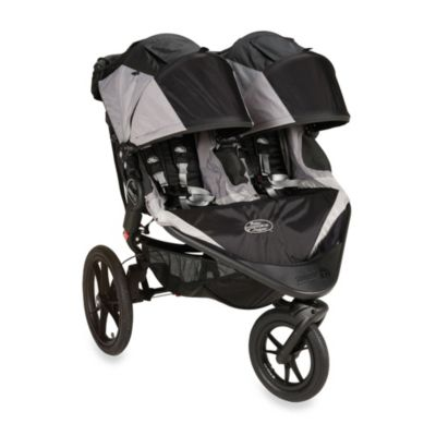 Baby Jogger® Summit X3 Double Stroller in Black/Grey