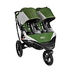 Baby Jogger™ Summit X3 Double Stroller in Green/Grey