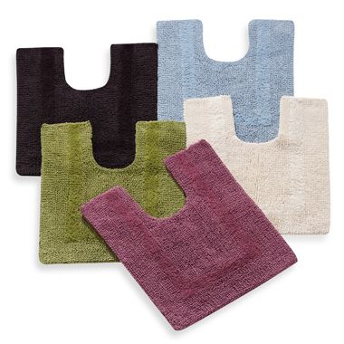 Wamsutta® Reversible Contour Bath Rug in Red