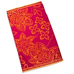 Overscaled Floral Beach Towel
