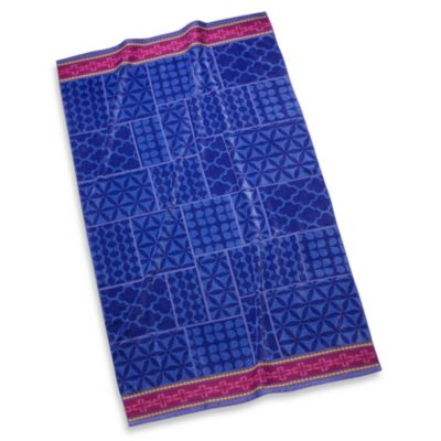 Geo Patchwork Beach Towel
