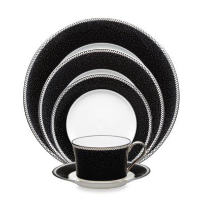 Noritake® Pearl Noir 5-Piece Place Setting