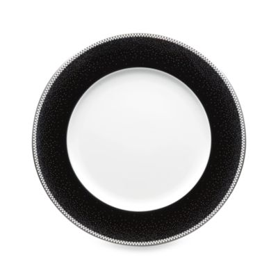 Black and White Dinner Plates
