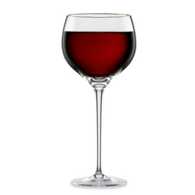Lenox® Eternal® Gold Signature Lead Crystal 10-Ounce Wine Glass
