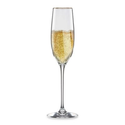 Lenox® Eternal® Gold Signature Lead Crystal 8-Ounce Flute