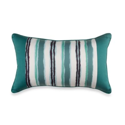 Vera™ Blossom Printed Oblong Toss Pillow