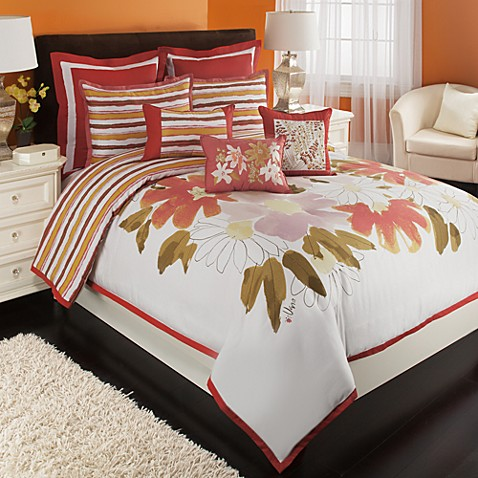Vera™ Floral Bouquet Duvet Cover and Sham Set