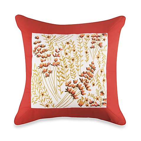 Vera™ Floral Bouquet Square Toss Pillow