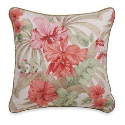 J. Queen New York™ Aruba Square Toss Pillow