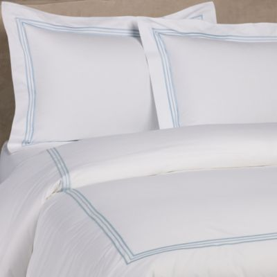 Bellino Fine Linens® Tivoli King Pillow Sham in Sky