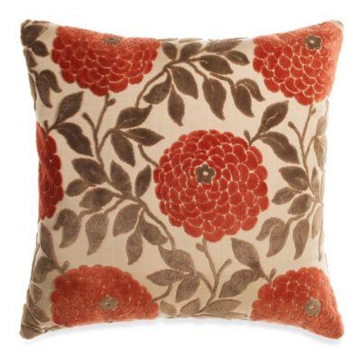 Chrysanthemum Spice Throw Pillow
