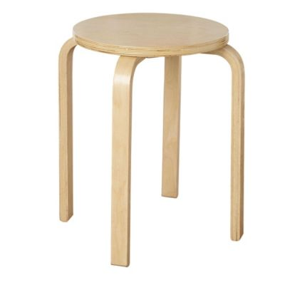 Bentwood Stacking Stool in Wenge (Set of 4)