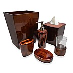 Croscill® Parquet Wood Toothbrush Holder