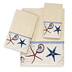 Avanti Antigua Fingertip Towel in Ivory