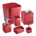 Interdesign® Gia Waste Basket in Red
