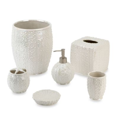 Avanti Sea Urchin Bath Wastebasket
