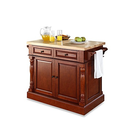 Buy Crosley Butcher Block Hardwood Kitchen Island From Bed