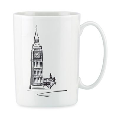 Lenox® Tin Can Alley® London Bone China 12-Ounce Mug