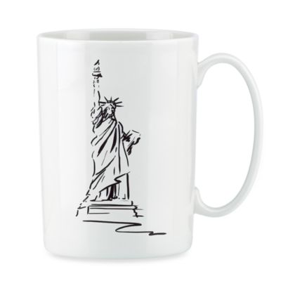 Lenox® Tin Can Alley® New York Bone China 12-Ounce Mug