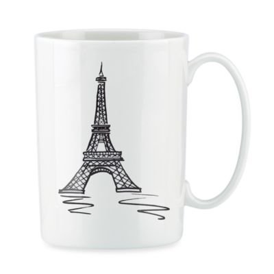 Lenox® Tin Can Alley® Paris Bone China 12-Ounce Mug