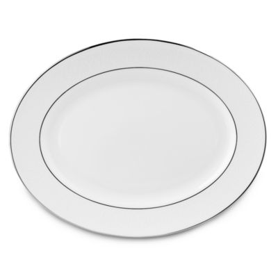 Lenox® Hannah Platinum® 13-Inch Oval Platter