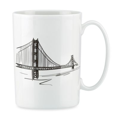 Lenox® Tin Can Alley® San Francisco Bone China 12-Ounce Mug