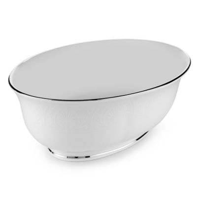 Lenox® Hannah Platinum® Oval Vegetable Bowl