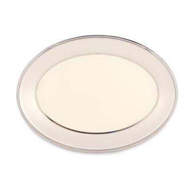 Lenox® Ivory Frost™ 13-Inch Oval Platter