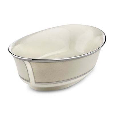 Lenox® Ivory Frost™ 10-Inch Open Vegetable Bowl