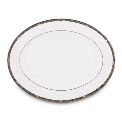 Lenox® Pearl Platinum™ 16-Inch Oval Platter