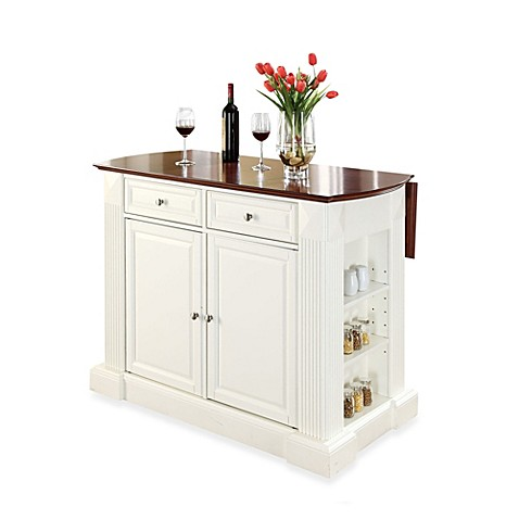 Buy Crosley Furniture Hardwood Drop Leaf Breakfast Bar Kitchen Island In Black From Bed Bath