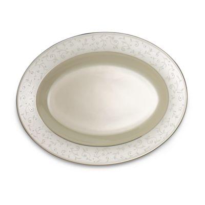 Lenox® Pearl Innocence™ 13-Inch Oval Platter in White