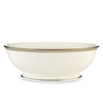 Lenox® Murray Hill Oval Vegetable Bowl