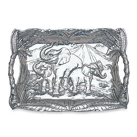 Arthur Court Elephant Clutch Tray