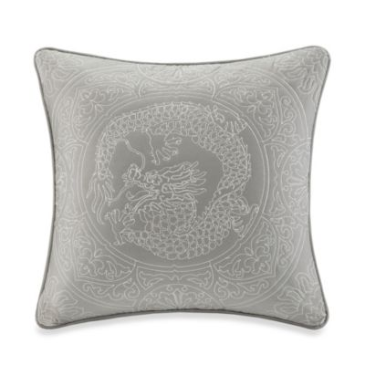 N Natori® Dragon 20-Inch x 20-Inch Square Toss Pillow