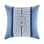 N Natori® Blue Porcelain Square Toss Pillow