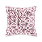 N Natori® Cherry Blossom Square Toss Pillow