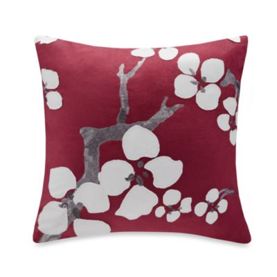 N Natori® Cherry Blossom Square Throw Pillow