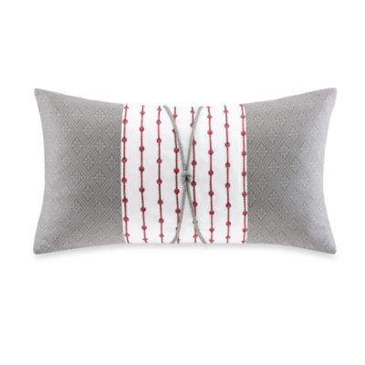 N Natori® Cherry Blossom Oblong Throw Pillow in Multi