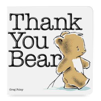 Thank You Bear Board Book