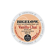 Keurig® K-Cup® Pack 18-Count Bigelow® Vanilla Chai Black Tea