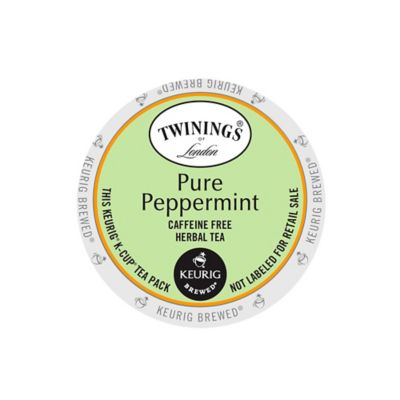 K-Cup® 18-Count Twining's® Pure Peppermint Herbal Tea for Keurig® Brewers