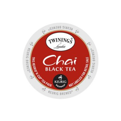 K-Cup® 18-Count Twining's® Chai Black Tea for Keurig® Brewers