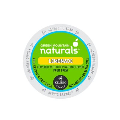 Keurig® K-Cup® Pack 16-Count Green Mountain Naturals® Lemonade Fruit Brew