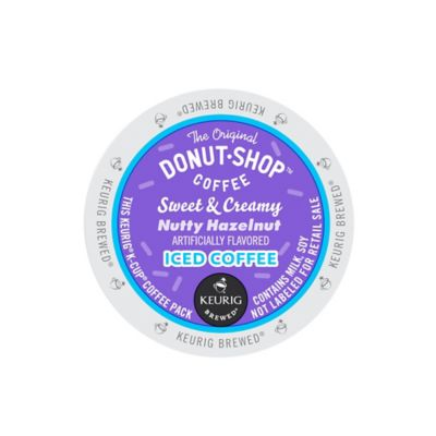Keurig® K-Cup® Pack 16-Count The Original Donut Shop® Nutty Hazelnut Iced Coffee