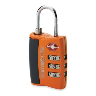 Samsonite® Travel Sentry 3-Dial Combination Lock