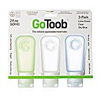 GoToob Squeezable Travel Tube (Set of 3)