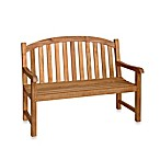 Teak 4-Foot Garden Bench in Victoria Teak