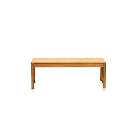 Buy Charleston 4 Foot Backless Bench In Natural From Bed